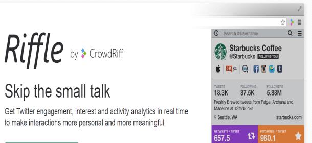 crowdriff herramientas para twitter