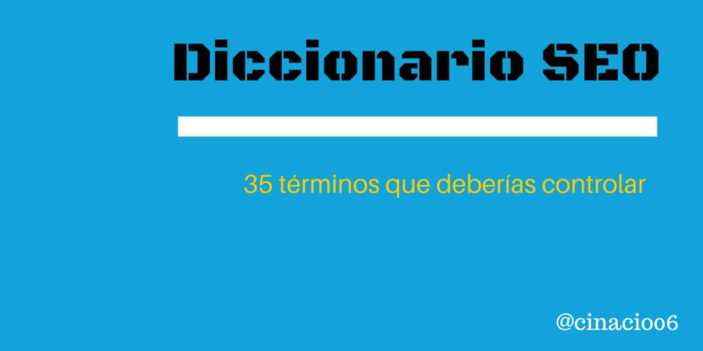 Diccionario palabras SEO