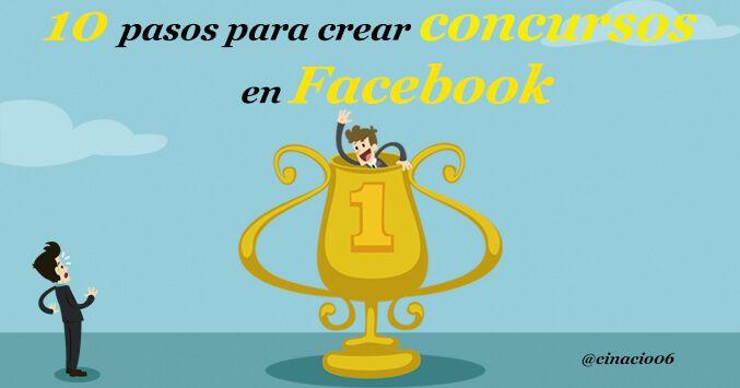pasos para crear concursos gratis en Facebook