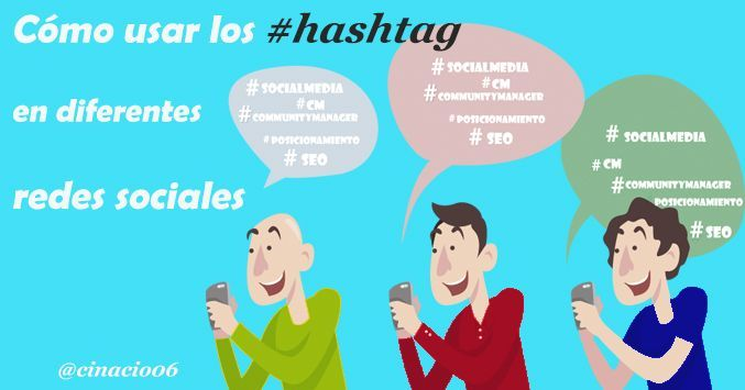 Guia de como usar los hashtags en diferentes redes sociales