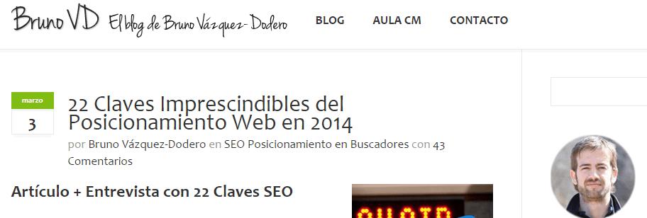 Blog BrunoVD