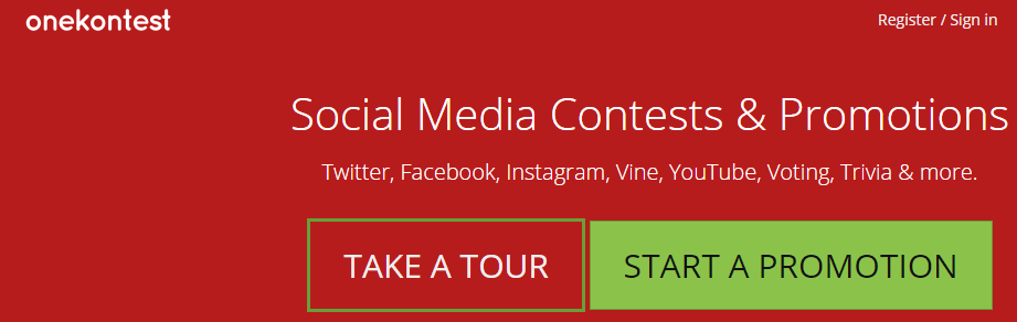 app para concurso twitter