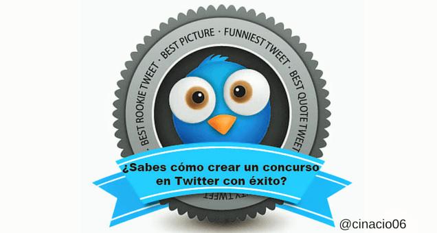 ¿Sabes cómo crear un concurso en Twitter con éxito?