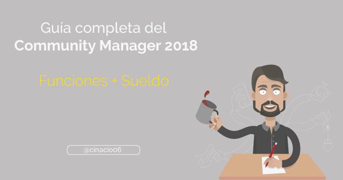 El Blog de Claudio Inacio - Guía completa del Community Manager, funciones, herramientas y sueldo del CM