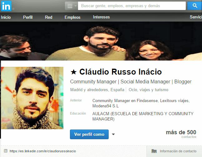 linkedin claudio