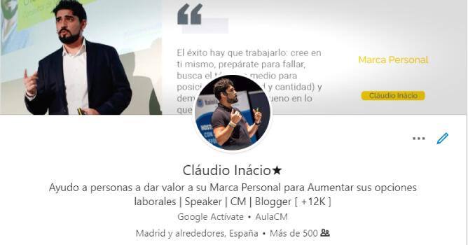 perfil de Linkedin