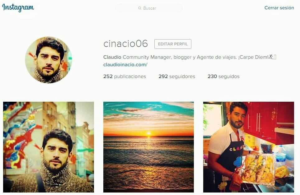 instagram claudio