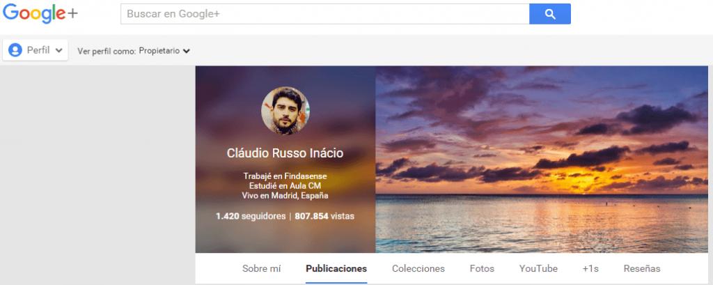 mejorar tu marca personal con perfil de google+