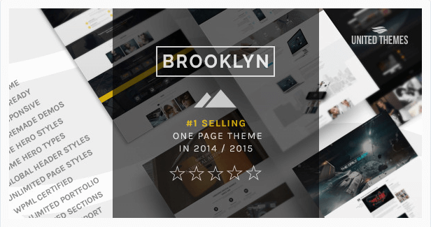 Brooklyn temas wordpress