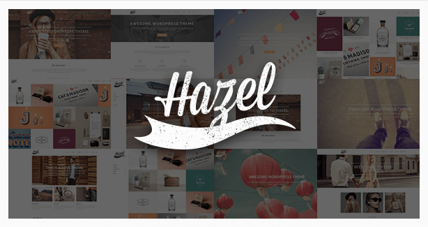 Hazel temas wordpress