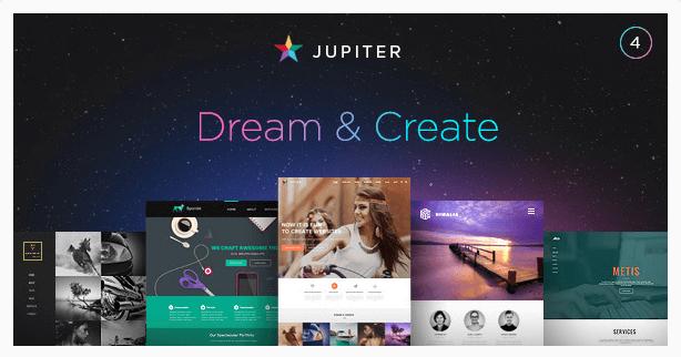 temas para wordpress Jupiter