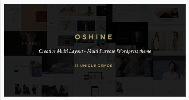 Oshine plantillas de wordpress