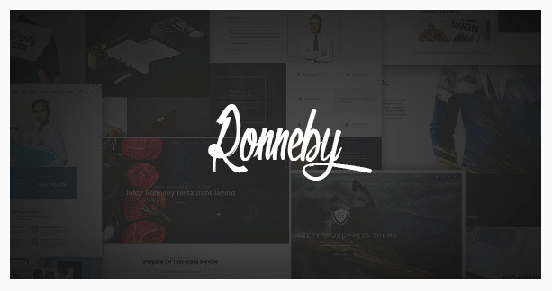 ronneby temas wordpress