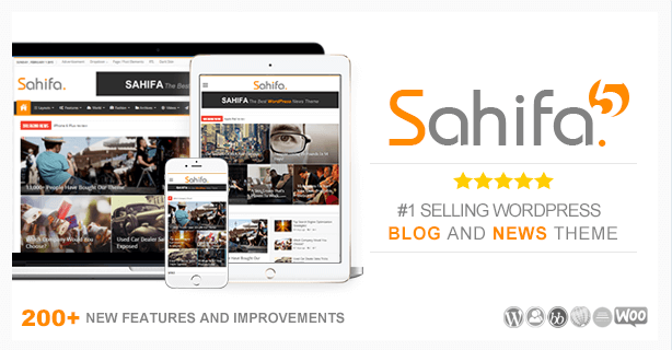 Sahifa temas wordpress