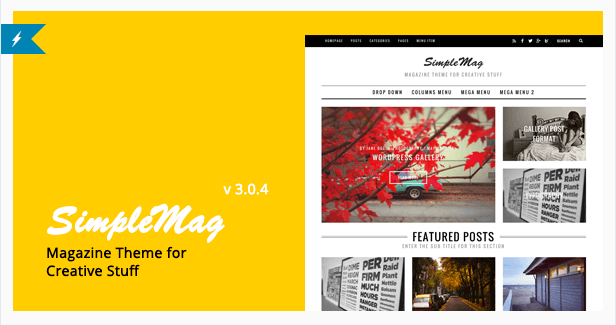 Simplemag themes wordpress