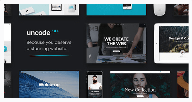 Uncode themes wordpress