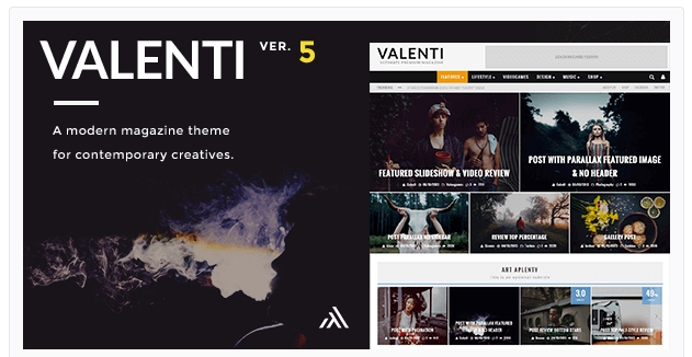 Valenti theme WordPress