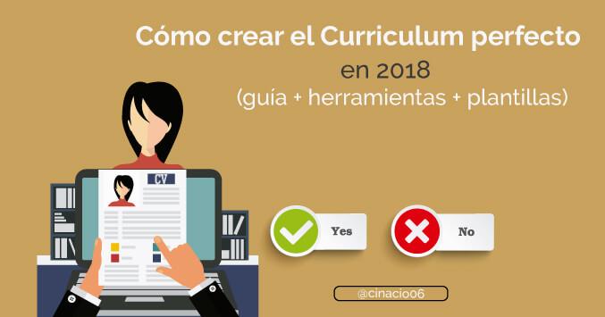 Curriculum Vitae 2018 Como Hacer Un Buen Curriculum Plantillas Cv