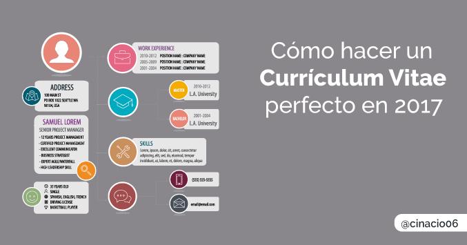 Imagen De Un Curriculum Vitae Chileno