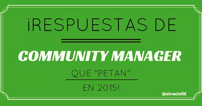 post respuestas de community managers en 2015