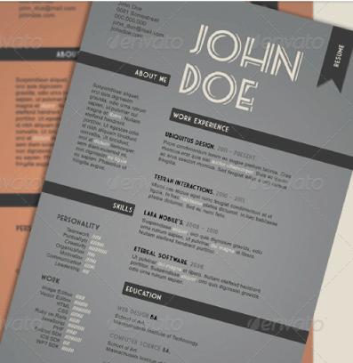 CV originales retro