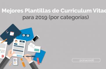 50 Plantillas de Curriculum Vitae Gratis y Premium para descargar y crear CV creativos