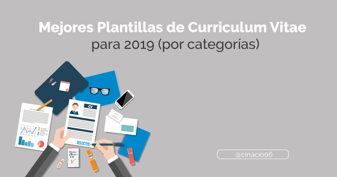 El Blog de Claudio Inacio - 50 Plantillas de Curriculum Vitae Gratis y Premium para descargar y crear CV creativos