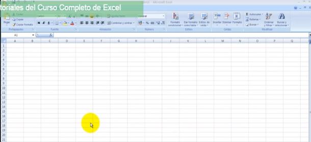 curso online gratis Excel