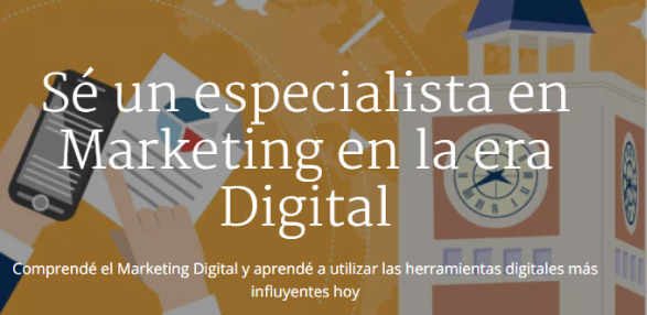 especialización en marketing digital coursera