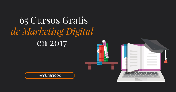 cursos online gratuitos de Marketing Digital 2017