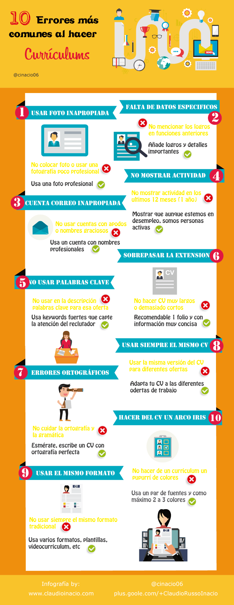 Curriculum Vitae - Cómo hacer un buen curriculum 2018 + Plantillas CV