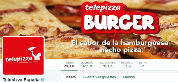los mejores tweets de telepizza