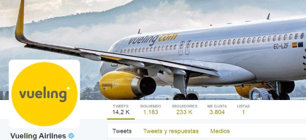 los mejores tweets de Vueling