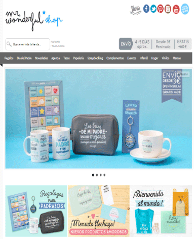 home con diseño adaptado a ecommerce