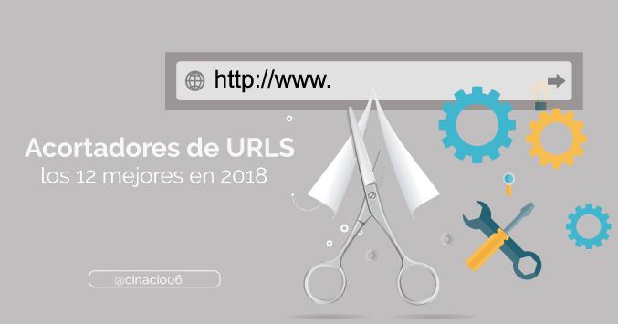 El Blog de Claudio Inacio - ¿No sabes dónde recortar URLs? Los 10 +2 Acortadores de links más fiables del mercado