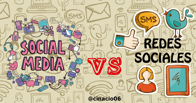 Social Media vs Redes Sociales ¿Hay alguna diferencia?