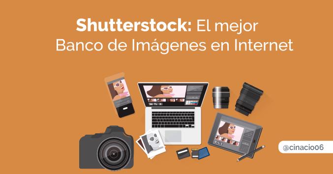 Shutterstock banco de imágenes+ editor