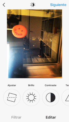 editar fotos en Instagram