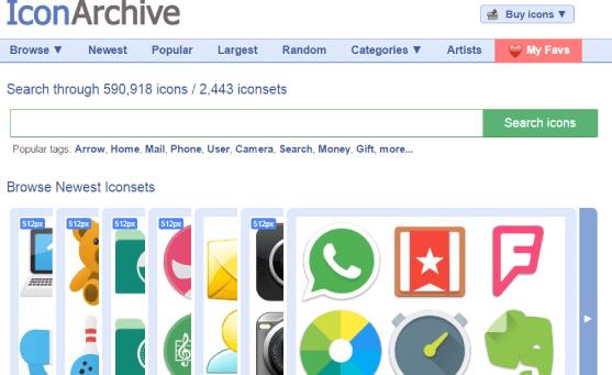 iconarchive iconos gratis
