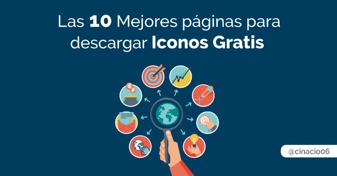 ¿Buscas Iconos Gratis? Las 10 mejores páginas para encontrar iconos