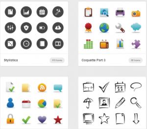 pagina de iconos gratis