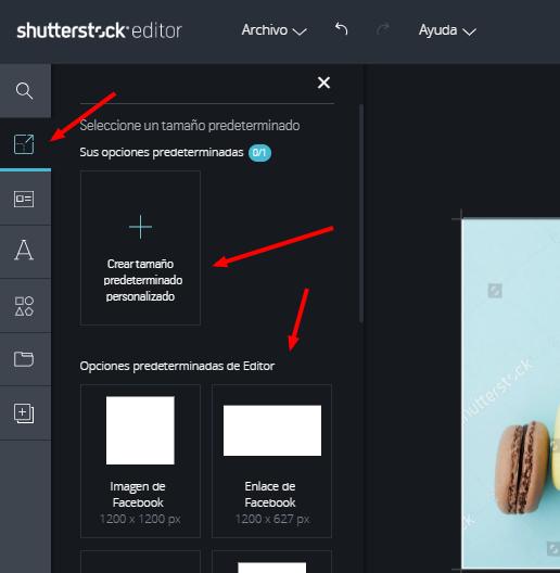 editar imágenes con editor shutterstock