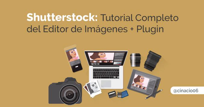 Tutorial Shutterstock editor + plugin