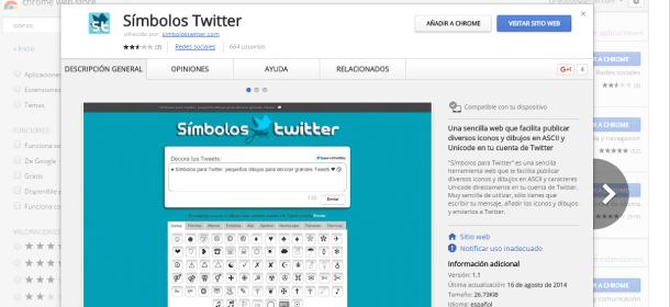 iconos twitter simbolos