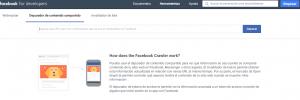 Debugger – Depurador de contenido compartido facebook
