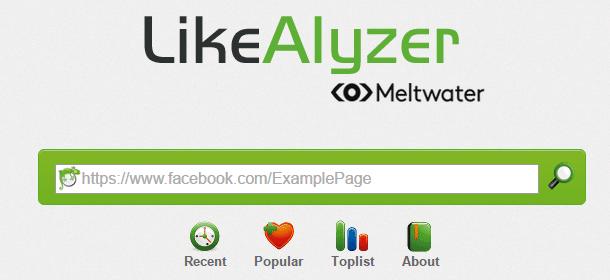 LikeAlyzer herramientas de Facebook