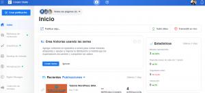 creator studio herramientas de facebook para el usuario