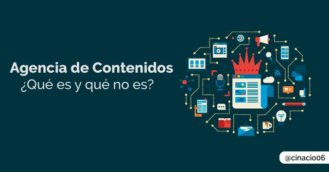 Agencia de contenidos: ¿Qué es y qué no es?
