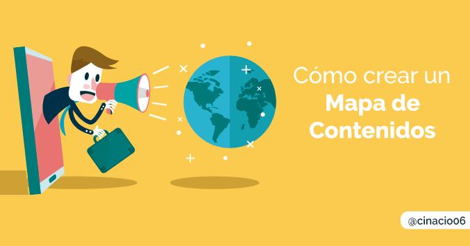 Cómo preparar un mapa de contenidos para tu Blog + Plantilla