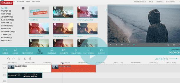 Filmora pragramas para edicion de video
